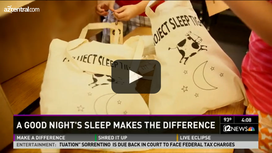 azcentral channel 12 project sleep tight video