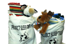 Project SleepTight Totes, bringing comfort to homeless children.